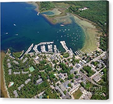F-001 Fish Creek And Harbor Door County Wisconsin Canvas Print