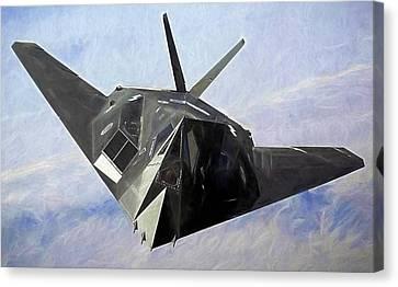 F-117 Stinkbug  Canvas Print