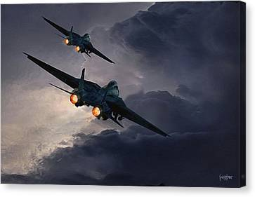 F-14 Flying Iron Canvas Print