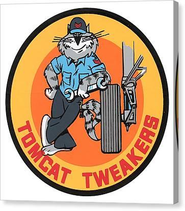F-14 Tomcat Tweakers Canvas Print