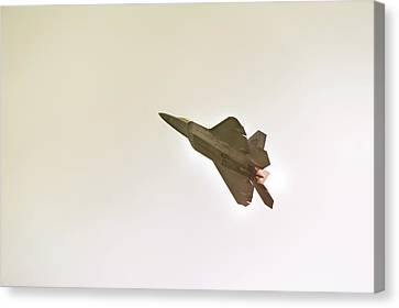 F-22 Raptor Canvas Print by Sebastian Musial