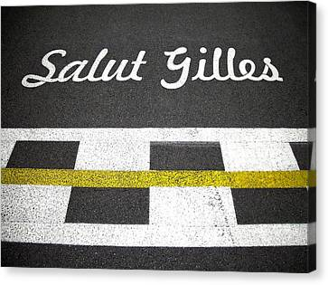 F1 Circuit Gilles Villeneuve - Montreal Canvas Print by Juergen Weiss