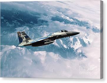 F15 Eagle Agressor Canvas Print by J Biggadike