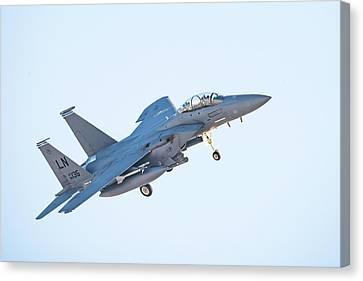 F15 Eagle Canvas Print by Paul Freidlund