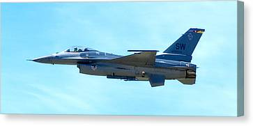 F16 Canvas Print by Greg Fortier