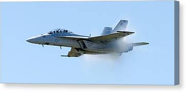 F18 - Barrier Canvas Print by Greg Fortier