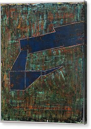 Dusk Oil On Board 16x20 Canvas Print by Radoslaw Zipper
