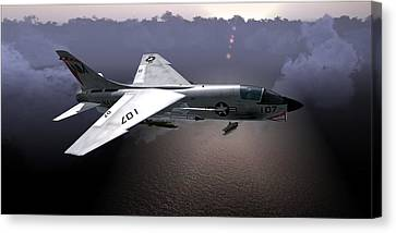 F8 At Kilo Canvas Print