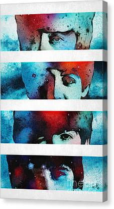 Canvas Print - Fab Four by Mo T