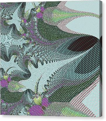 Fabric Sample Canvas Print by Thomas Smith