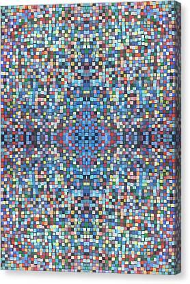Fabulous Fractal Art 25 Canvas Print by Catherine Rose Chiara