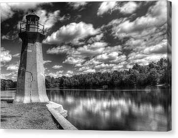 Fabyan Lighthouse On The Fox River Canvas Print