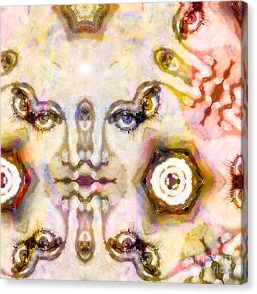 Face Fantasy 1 Canvas Print