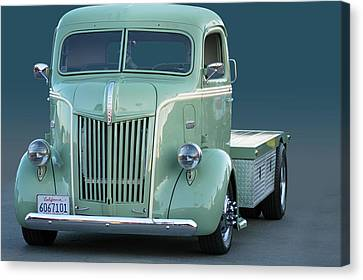 Face O Ford Coe Canvas Print by Bill Dutting