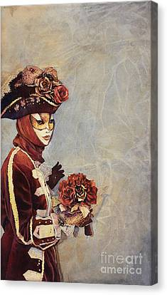 Face Of Carnivale- Italy Canvas Print by Ryan Fox