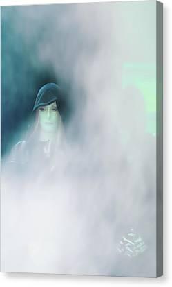 Face Canvas Print by Viktor Savchenko
