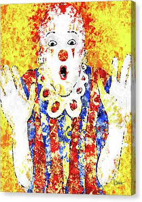 Face Your Fears Canvas Print by Roly Orihuela