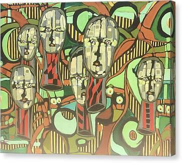 Faces #22 Canvas Print