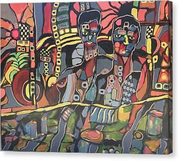 Faces #8 Canvas Print