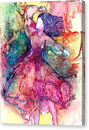 Facing One Canvas Print by Deborah Nell