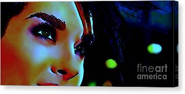 Facing The New Dawn Canvas Print by Dolly Mohr