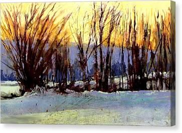 Facing Westward Canvas Print by Joseph Barani
