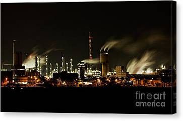 Factory Canvas Print by Nailia Schwarz