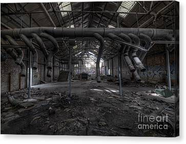 Factory Canvas Print by Svetlana Sewell