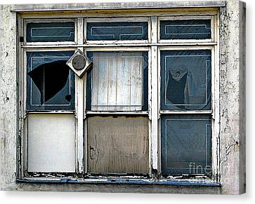 Factory Windows Canvas Print by Ethna Gillespie