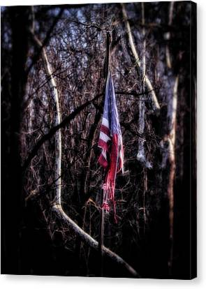 Canvas Print featuring the photograph Faded Glory by Alan Raasch