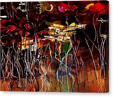 Faded Love Canvas Print by Amanda Schambon