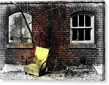 Canvas Print featuring the photograph Fading Away by Jessica Brawley