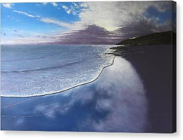 Fading Light Canvas Print by Paul Newcastle