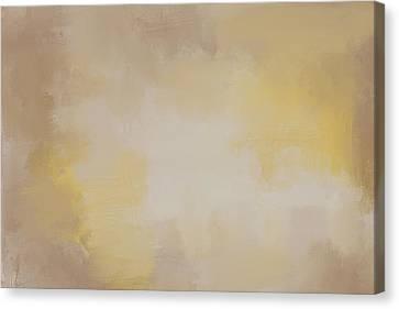 Fading Magnolia Autumn Abstract Painting Canvas Print by Jai Johnson