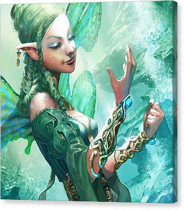 Faerie Cuffs Canvas Print by Ryan Barger