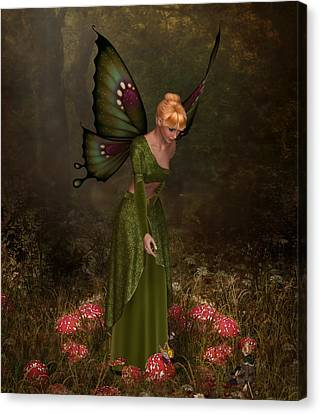 Faerie Ring Canvas Print by David Griffith