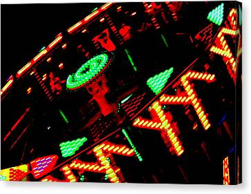 Fair Fun Canvas Print by Dana  Oliver