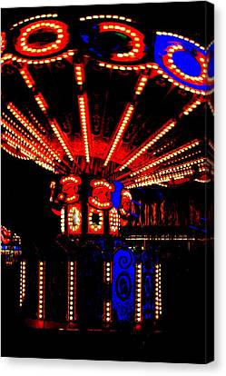 Fair Lights Canvas Print by Dana  Oliver
