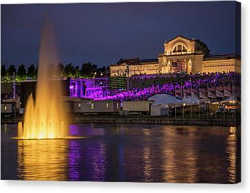 4th July Canvas Print - Fair St Louis At Forest Park by Garry McMichael