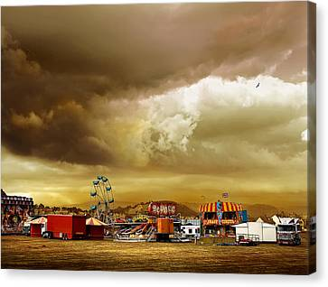 Fair Weather Canvas Print by Mal Bray