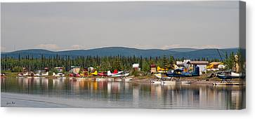 Fairbanks Float Pond  Canvas Print