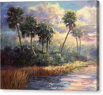 Fairchild Gardens Canvas Print by Laurie Hein