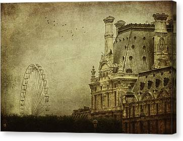 Fairground Canvas Print by Andrew Paranavitana