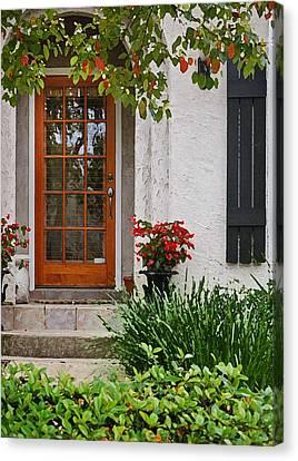 Fairhope Doorway Canvas Print by Michael Thomas