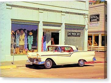 Fairlane 500 1957 Canvas Print by John Schneider