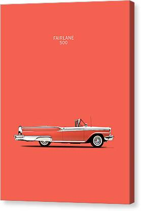 Fairlane 500 Canvas Print by Mark Rogan