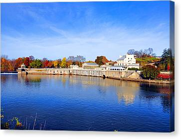 Fairmount Water Works - Philadelphia Canvas Print by Bill Cannon