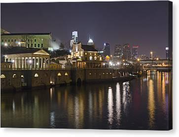 Fairmount Water Works - Philadelphia  Canvas Print