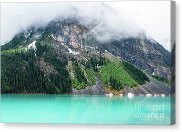 Fairview Mountain Above Lake Louise Canvas Print