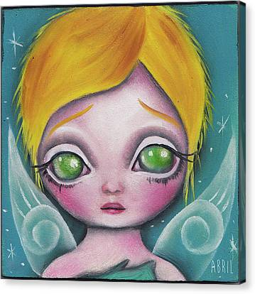 Fairy  Canvas Print by Abril Andrade Griffith
